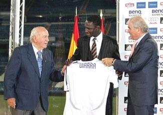 Diarra chính thức ra mắt tại Real Madrid - 1