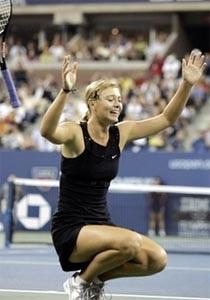 """""""Nữ hoàng quần vợt"""" Sharapova đăng quang - 1"""