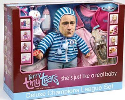 Chùm ảnh hài về cú sút penalty hỏng ăn của John Terry - 9