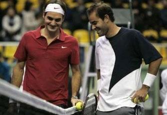 Federer đánh bại Sampras tại Seoul  - 1