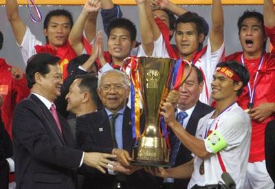 Việt Nam lọt vào tốp 10 sự kiện bóng đá châu Á 2008 - 1