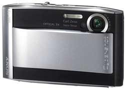 Máy ảnh kỹ thuật số  Sony Cyber-Shot T5  - 1