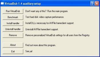Phần mềm xử lí video VitualDub - 1