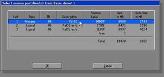 Phục hồi hệ điều hành với Norton Ghost - 2