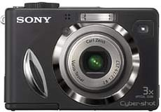 "Sony Cybershot DSC-W17- Camera 7 ""mê"" - 3"