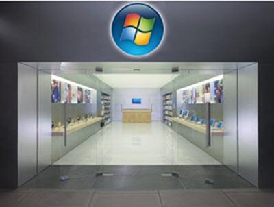 """Microsoft """"bắt chước"""" Apple mở chuỗi của hàng bán lẻ  - 1"""