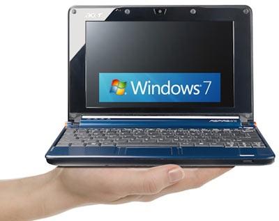 """Windows 7 """"vật vã"""" với cơn bão netbook - 1"""