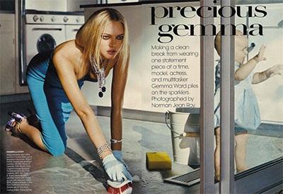 """Hai bộ ảnh tuyệt đẹp của """"chân dài"""" Gemma Ward - 8"""