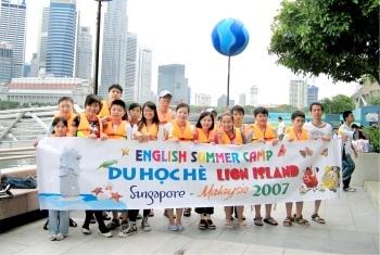 Trại hè Anh ngữ sôi động tại Anh - Mỹ và Singapore 2009 - 3