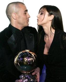 Khoảnh khắc Cannavaro và người đẹp Bellucci - 2