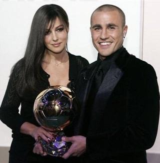 Khoảnh khắc Cannavaro và người đẹp Bellucci - 1