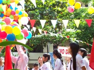 TPHCM: Rộn rã ngày khai trường - 1