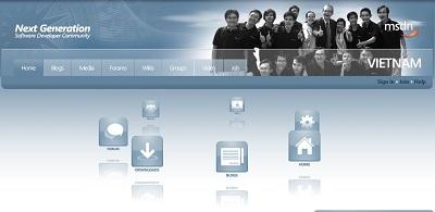 Microsoft phục vụ cộng đồng tin học Việt Nam - 1
