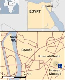 Bom nổ rung chuyển Cairo, hơn 20 người nước ngoài thương vong - 1