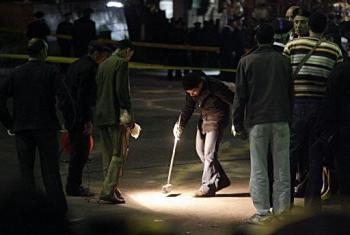 Bắt giữ 3 nghi phạm trong vụ đánh bom tại Cairo - 1