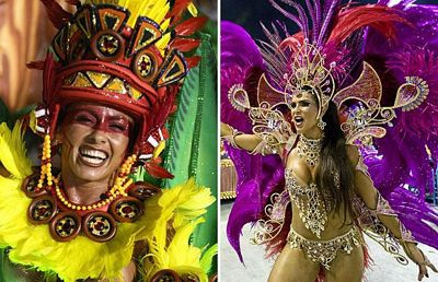 Chùm ảnh: Cuồng nhiệt lễ hội hoá trang Rio de Janeiro - 3