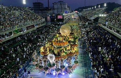 Chùm ảnh: Cuồng nhiệt lễ hội hoá trang Rio de Janeiro - 1