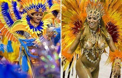 Chùm ảnh: Cuồng nhiệt lễ hội hoá trang Rio de Janeiro - 6