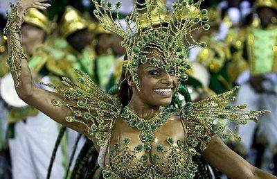 Chùm ảnh: Cuồng nhiệt lễ hội hoá trang Rio de Janeiro - 5