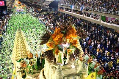 Chùm ảnh: Cuồng nhiệt lễ hội hoá trang Rio de Janeiro - 2