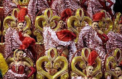 Chùm ảnh: Cuồng nhiệt lễ hội hoá trang Rio de Janeiro - 15