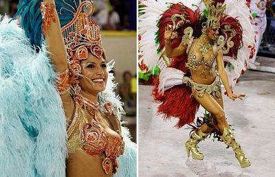 Chùm ảnh: Cuồng nhiệt lễ hội hoá trang Rio de Janeiro - 13