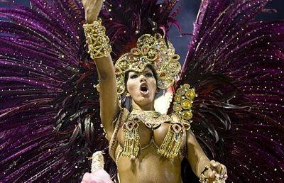 Chùm ảnh: Cuồng nhiệt lễ hội hoá trang Rio de Janeiro - 12