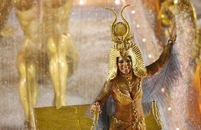 Chùm ảnh: Cuồng nhiệt lễ hội hoá trang Rio de Janeiro - 11