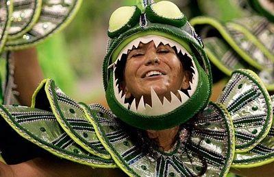 Chùm ảnh: Cuồng nhiệt lễ hội hoá trang Rio de Janeiro - 10
