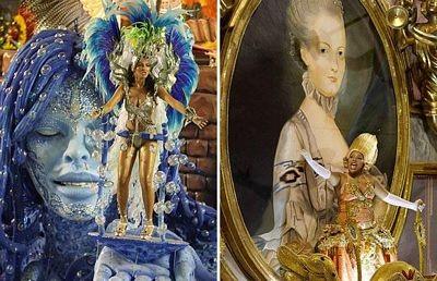 Chùm ảnh: Cuồng nhiệt lễ hội hoá trang Rio de Janeiro - 9