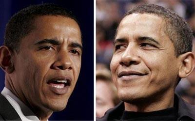 Obama bạc đầu sau 44 ngày nhậm chức - 1