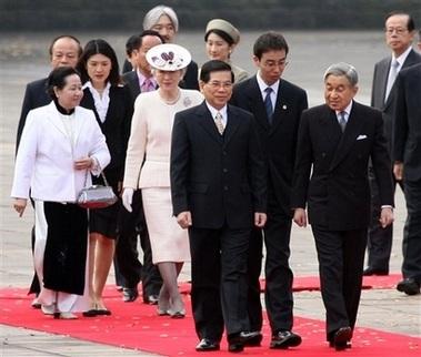 Chùm ảnh: Chủ tịch Nguyễn Minh Triết thăm Nhật Bản - 2