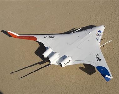 Chùm ảnh máy bay hình cá đuối - 1
