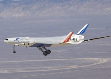 Chùm ảnh máy bay hình cá đuối - 3