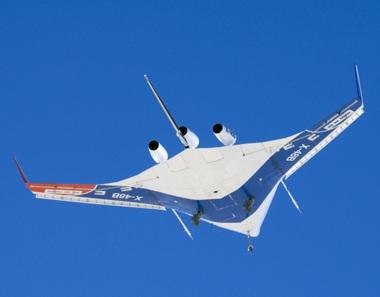 Chùm ảnh máy bay hình cá đuối - 4