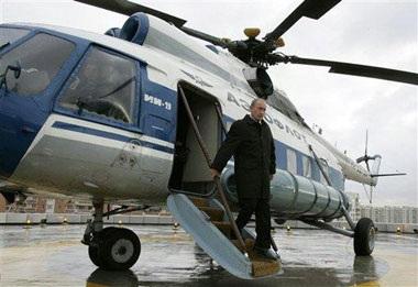 Chùm ảnh: Chiếc trực thăng đặc biệt của Tổng thống Nga - 9