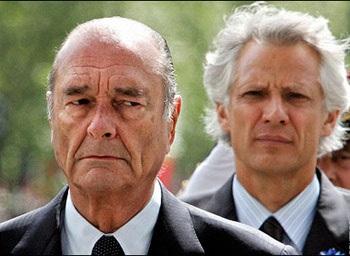 Chirac từng âm mưu bôi nhọ Sarkozy - 1