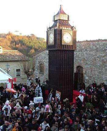 Chùm ảnh: Tháp đồng hồ Big Ben giữa lòng nước Ý - 9