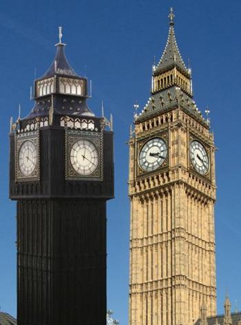 Chùm ảnh: Tháp đồng hồ Big Ben giữa lòng nước Ý - 5