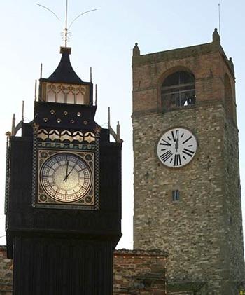Chùm ảnh: Tháp đồng hồ Big Ben giữa lòng nước Ý - 8