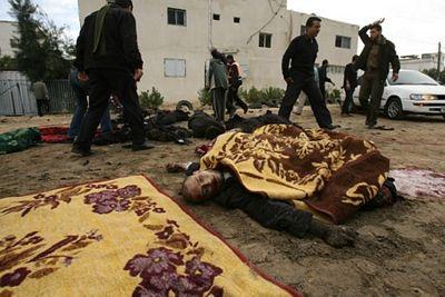 Chùm ảnh: Xác chết ngổn ngang tại dải Gaza - 9