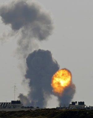 Chùm ảnh: Xác chết ngổn ngang tại dải Gaza - 1