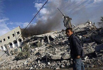 Chùm ảnh: Xác chết ngổn ngang tại dải Gaza - 13