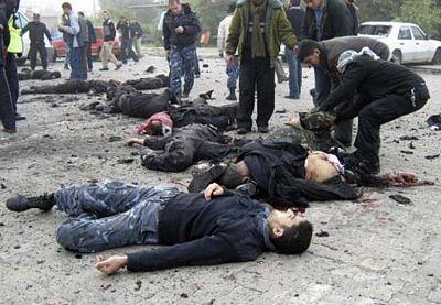 Chùm ảnh: Xác chết ngổn ngang tại dải Gaza - 7