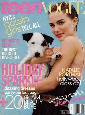 Natalie Portman trẻ trung trên Teen Vogue - 1