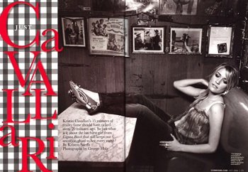 Kristin Cavalleri - vẻ đẹp lôi cuốn của tuổi 19 - 3