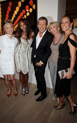 Cuộc hội ngộ giữa Naomi Campbell và Claudia Schiffer  - 5