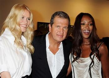 Cuộc hội ngộ giữa Naomi Campbell và Claudia Schiffer  - 1