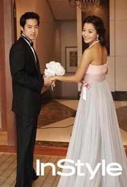 Chiêm ngưỡng bộ ảnh cưới của Kim Hee Sun trên Instyle - 5