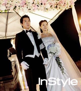 Chiêm ngưỡng bộ ảnh cưới của Kim Hee Sun trên Instyle - 10